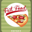 Fast food — Stock Vector #34030977