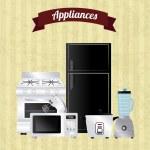 Постер, плакат: Appliances icons