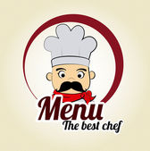 Chef icon — Stock Vector