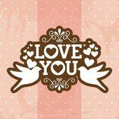 Love — Vettoriale Stock