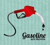 Fuel industry — Stock Vector
