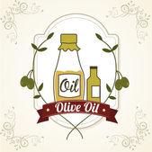 Olive oil — Stock Vector