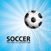 Projeto de futebol — Vetor de Stock