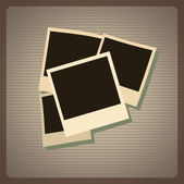 Photo design — Stock Vector