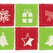 Christmas icons — Stock Vector #34406411