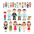 Vector de stock : Family design