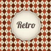 Retro label — Stockvector