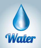 água natural — Vetorial Stock