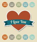 Love — Stockvektor