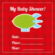 Baby shower — Stock vektor #34757577
