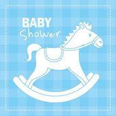 Baby shower — Vector de stock