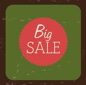 Big sale design — Stock Vector