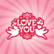 Love — Vector de stock #34779801