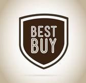 Best buy design — Stock Vector
