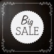 Big sale design — Stock Vector