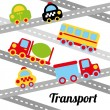 Transport design   — Stock Vector