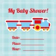 Vector de stock : Baby shower