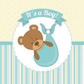 Chá de bebê — Vetorial Stock