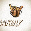 Bakery design — Stock Vector #35086463