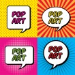 pop art — Stockvektor  #35086527