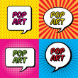 pop art — Stockvector  #35086527