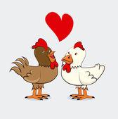 Love animal — Stock Vector