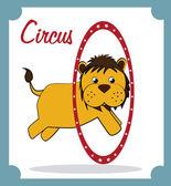 Circo — Vetor de Stock