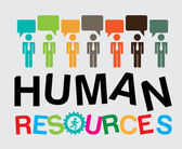 Human resources — Stock Vector