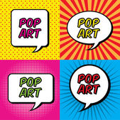 Pop art — Stok Vektör