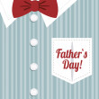 Happy Father's Day — Vetorial Stock