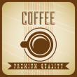 Coffee design — Image vectorielle