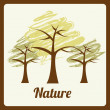 Nature design — Stock Vector