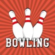 Bowling — Vector de stock #35321971