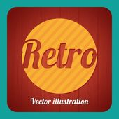 Retro Label — Vector de stock