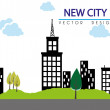Stock Vector: City design
