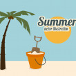 Sommer-design — Stockvektor #35459195