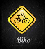 Bicycle signal — Vector de stock