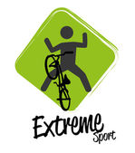 Extreme sport — Stock Vector