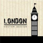 London design — Stock Vector