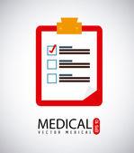 Icono de médico — Vector de stock