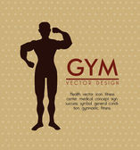 Gym icon — Stock Vector