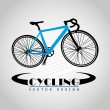 Cycling design — Image vectorielle