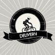 Delivery — Stockvectorbeeld
