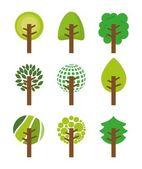 Orman tasarımı — Stok Vektör