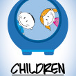 Children design — Stock Vector