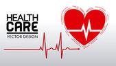 Health care design — Stock Vector