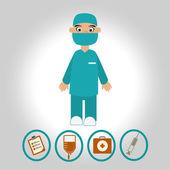 Medical design — Vecteur