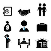 Finances icons — Stock Vector
