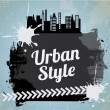 Urban design  — Stock Vector