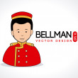 Bellman — Stock Vector